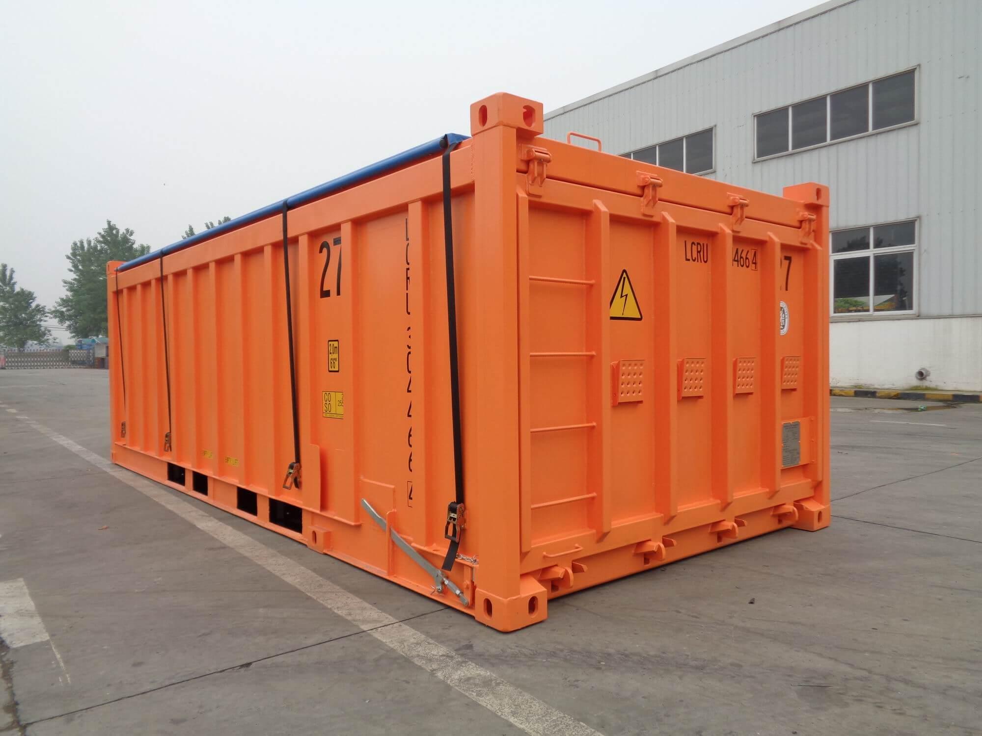 20ft Schüttgut-Container
