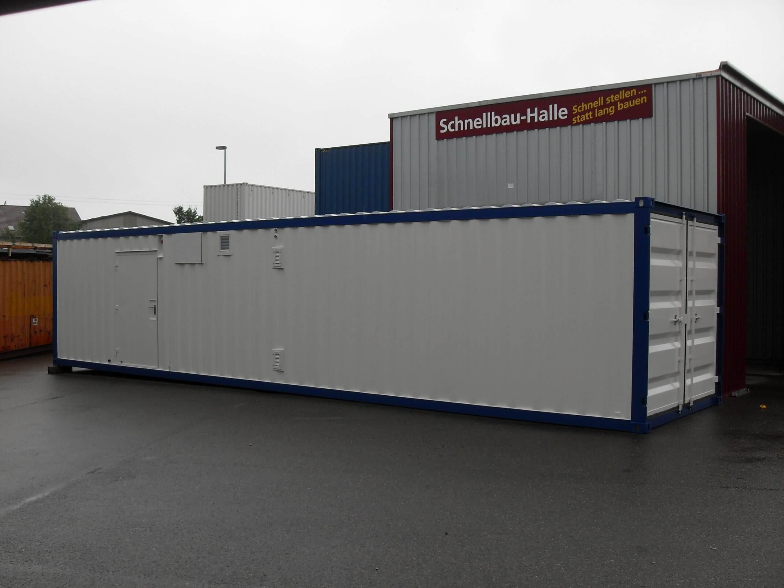 Container-mobile Notstromversorgung