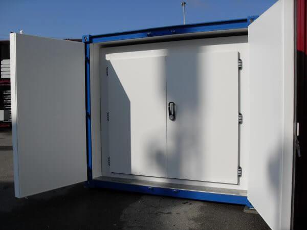 Kühlzelle im wärmegedämmten Container